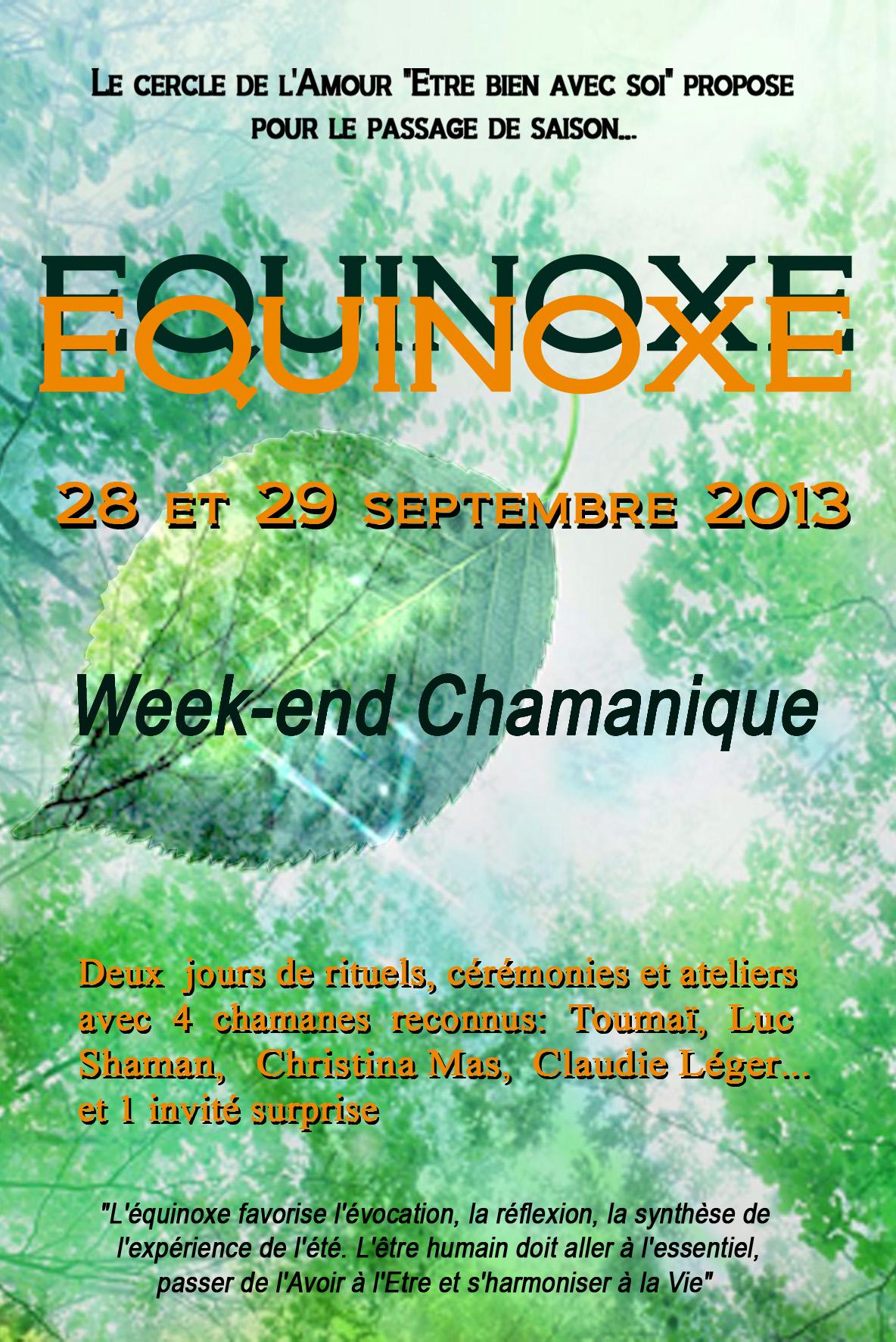 Week-End De l'Equinoxe