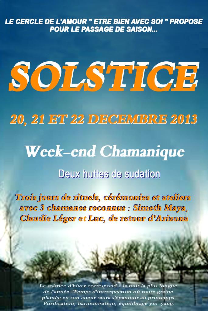"""Week-end Chamanique """"Solstice d'Hiver"""""""
