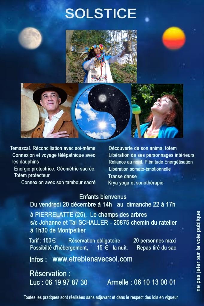 "Week-end Chamanique ""Solstice d'Hiver"" - Verso"