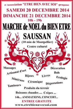 Marché De Noël Du Bien-Etre Le 20 Et 21 Décembre à Saussan